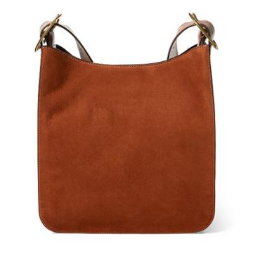 Polo Ralph Lauren Nubuck Leather Messenger Bag