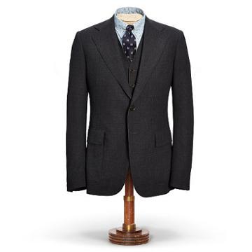 Ralph Lauren Rrl Wool Suit Jacket