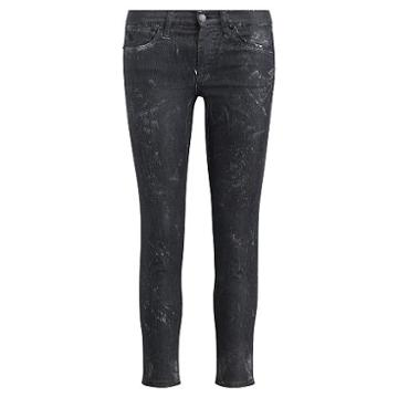 Polo Ralph Lauren Tompkins Cropped Skinny Jean Blk Ground Clay