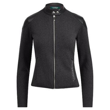 Ralph Lauren Lauren Stretch Cotton Moto Jacket