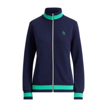 Ralph Lauren Cotton-blend Track Jacket French Navy