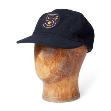 Ralph Lauren Wool-blend Twill Ball Cap Navy
