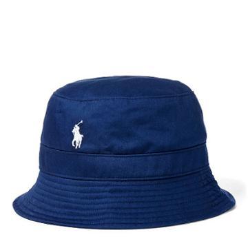 Polo Ralph Lauren Twill Bucket Hat French Navy