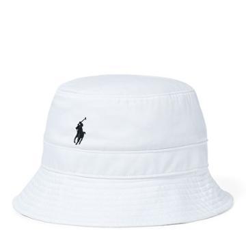Polo Ralph Lauren Twill Bucket Hat Pure White