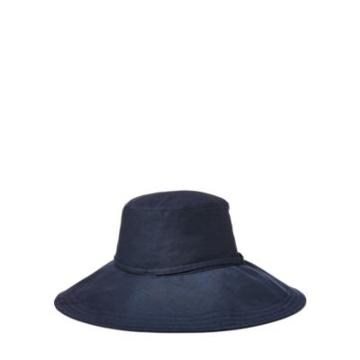 Ralph Lauren Packable Linen Hat Navy