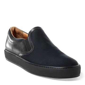 Ralph Lauren Santiago Neoprene Sneaker Black