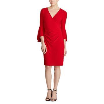 Ralph Lauren Lauren Jersey Bell-sleeve Dress