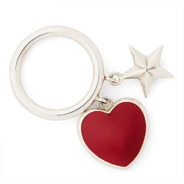 Ralph Lauren Heart-star Charm Ring