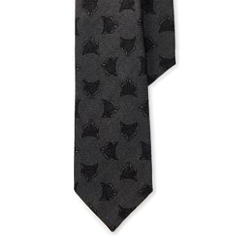 Polo Ralph Lauren Fox-print Wool Narrow Tie