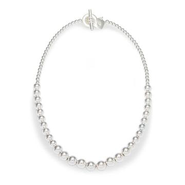 Ralph Lauren Lauren Graduated Ball Necklace Pearl