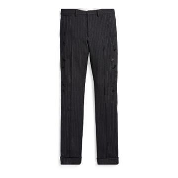 Ralph Lauren Rrl Slim Embroidered Suit Trouser