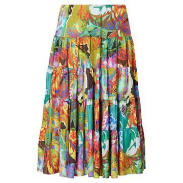 Ralph Lauren Lauren Woman Floral-print Maxiskirt Multi