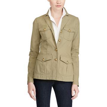 Ralph Lauren Lauren Stretch Canvas Field Jacket