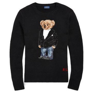 Polo Ralph Lauren Tuxedo Bear Crewneck Sweater