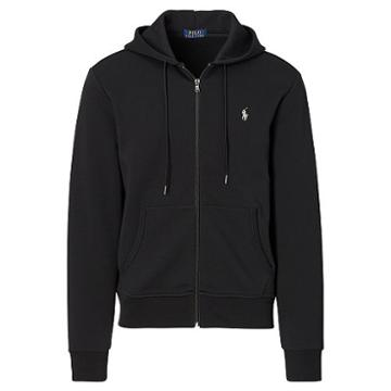 Polo Ralph Lauren Double-knit Hoodie Polo Black
