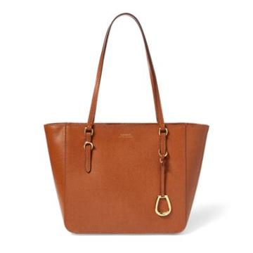 Ralph Lauren Nylon Oxford Tote Lauren Tan