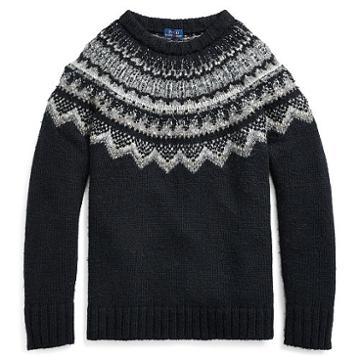 Polo Ralph Lauren Beaded Nordic Sweater