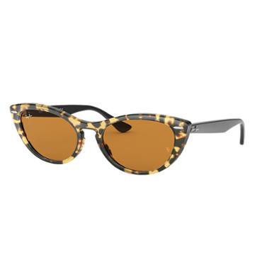 Ray-ban Nina Black Sunglasses, Yellow Lenses - Rb4314n