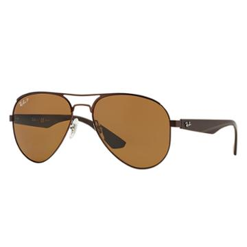 Ray-ban Brown Sunglasses, Polarized Brown Sunglasses Lenses - Rb3523
