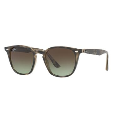 Ray-ban Blue Sunglasses, Brown Lenses - Rb4258