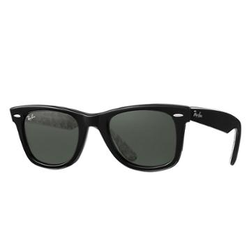 Ray-ban Mickey M90th Black Sunglasses, Green Lenses - Rb2140