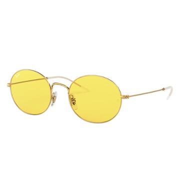 Ray-ban Ray-ban Beat Festival Edition Gold Sunglasses, Yellow Lenses - Rb3594