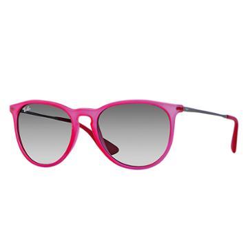 Ray-ban Women's Erika Color Mix Gunmetal Sunglasses, Gray Lenses - Rb4171