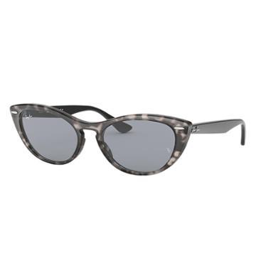 Ray-ban Nina Black Sunglasses, Blue Lenses - Rb4314n