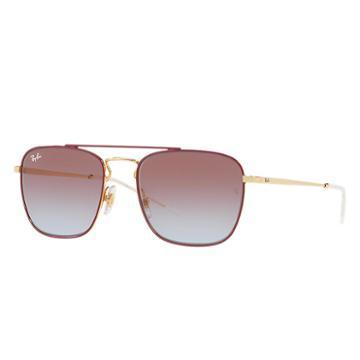 Ray-ban Men's Gold Sunglasses, Violet Lenses - Rb3588