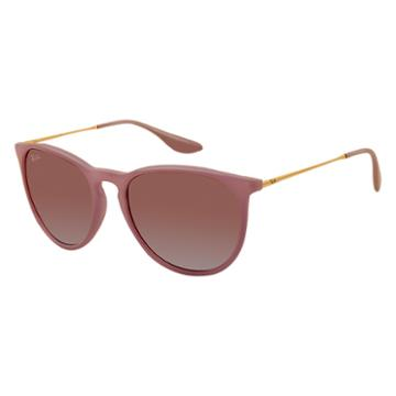Ray-ban Women's Erika Color Mix Gold Sunglasses, Brown Lenses - Rb4171