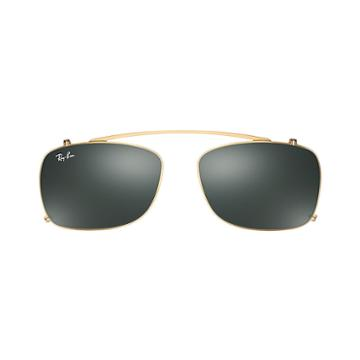Ray-ban Men's Rb5228 Clip-on Gold Sunglasses - Rb5228c