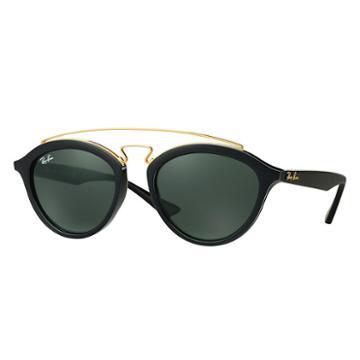 Ray-ban Women's Gatsby Ii Black Sunglasses, Green Lenses - Rb4257