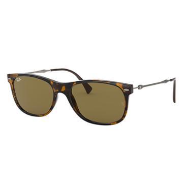 Ray-ban Gunmetal Sunglasses, Brown Lenses - Rb4318