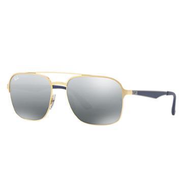 Ray-ban Men's Blue Sunglasses, Gray Lenses - Rb3570