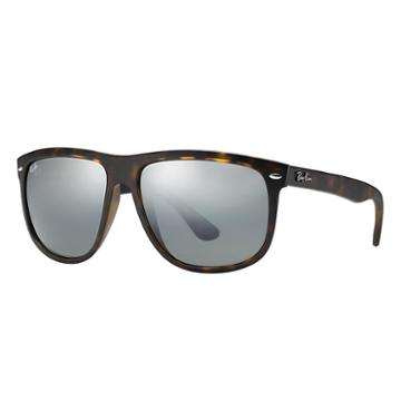 Ray-ban Tortoise Sunglasses, Gray Lenses - Rb4147