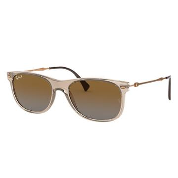 Ray-ban Copper Sunglasses, Polarized Brown Lenses - Rb4318
