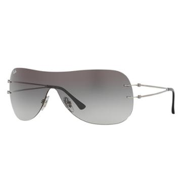 Ray-ban Grey Sunglasses, Gray Lenses - Rb8057