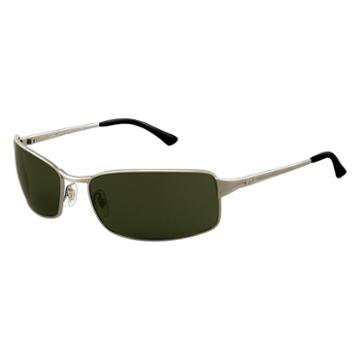 Ray-ban Men's Gunmetal Sunglasses, Polarized Green Lenses - Rb3269