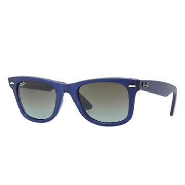 Ray-ban Men's Original Wayfarer Color Mix Blue Sunglasses, Blue Sunglasses Lenses - Rb2140