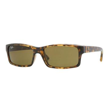 Ray-ban Tortoise Sunglasses, Brown Lenses - Rb4151