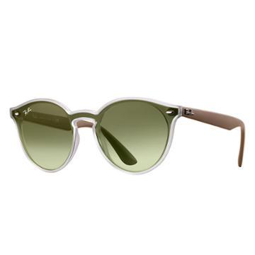 Ray-ban Blaze Green Sunglasses, Green Sunglasses Lenses - Rb4380n