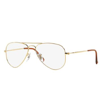 Ray-ban Gold Eyeglasses - Rb6049