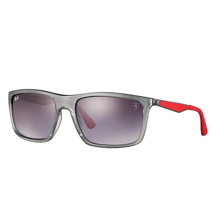 647d20930386 Ray-banRay-ban Scuderia Ferrari Collection Gunmetal Sunglasses