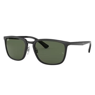 Ray-ban Black Sunglasses, Green Lenses - Rb4303