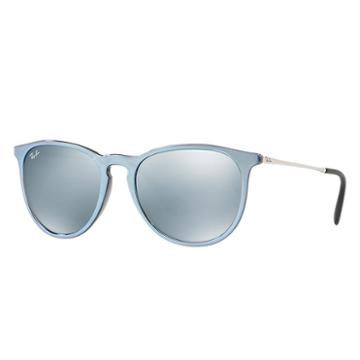 Ray-ban Women's Erika Classic Silver Sunglasses, Gray Lenses - Rb4171