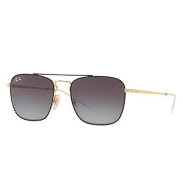 Ray-ban Men's Gold Sunglasses, Gray Lenses - Rb3588
