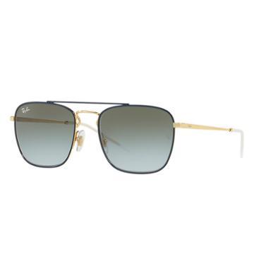 Ray-ban Men's Gold Sunglasses, Green Lenses - Rb3588