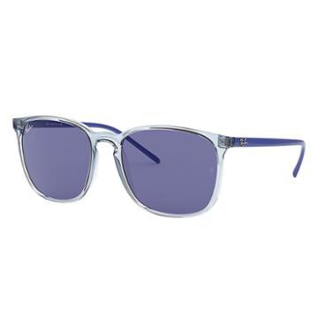 Ray-ban Blue Sunglasses, Violet Lenses - Rb4387