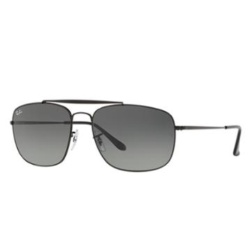 Ray-ban Colonel Black Sunglasses, Gray Lenses - Rb3560
