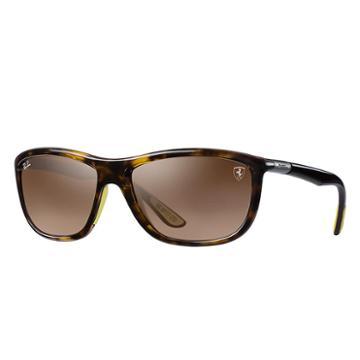 Ray-ban Scuderia Ferrari Sg Gp17 Ltd Brown Sunglasses, Brown Sunglasses Lenses - Rb8351m